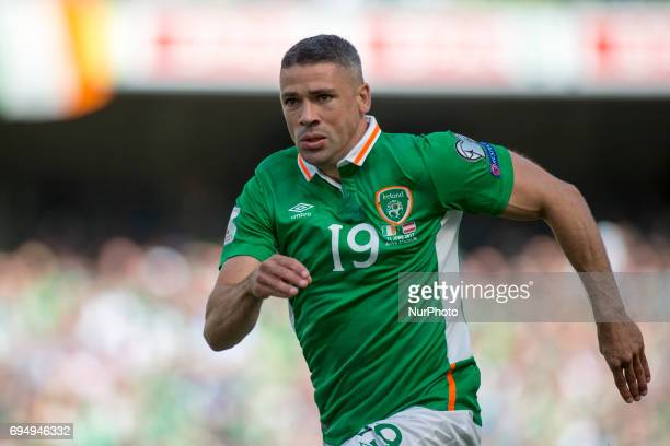 Jonathan Walters of Ireland pictured in action during the FIFA World Cup 2018 Qualifying Round Group D match between Republic of Ireland and Austria...