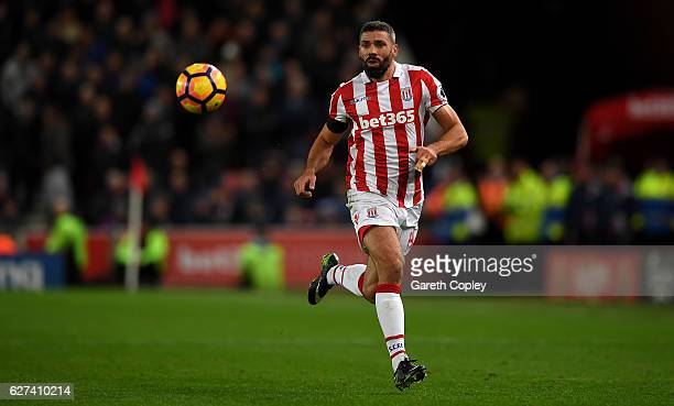 Jonathan Walters of Stoke City during the Premier League match between Stoke City and Burnley at Bet365 Stadium on December 3 2016 in Stoke on Trent...