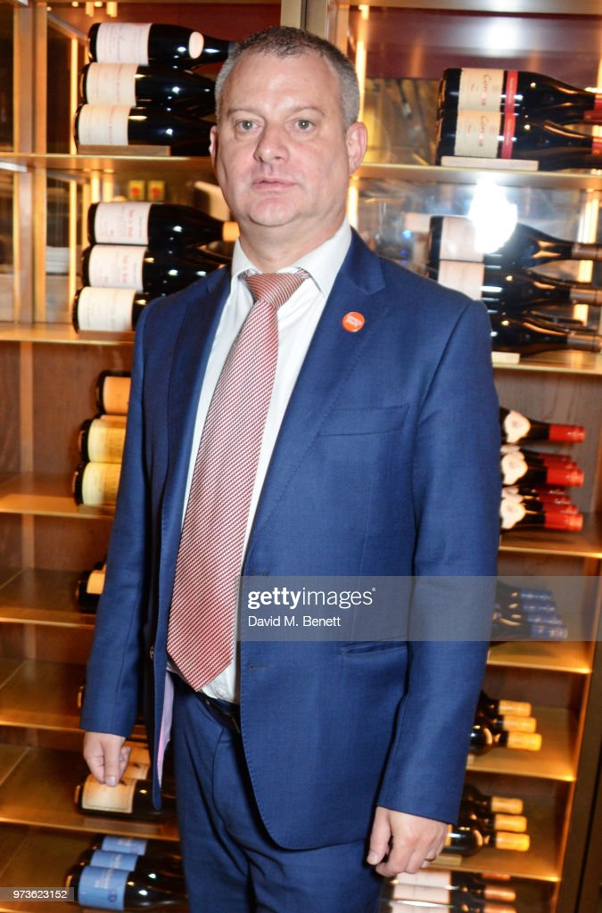 Jonathan Ward attends the Centrepoint VIP Dinner hosted By Kiera Chaplin & Elen Rivas at Cafe Royal on June 13, 2018 in London, England.