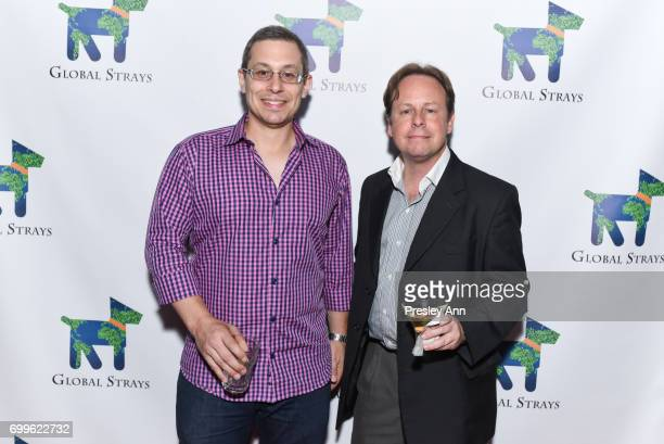 Jonathan Weiss and Ross Simon attend Elizabeth Shafiroff and Lindsey Spielfogal Host the First Annual Global Strays Fund Raising Party at Rumpus Room...