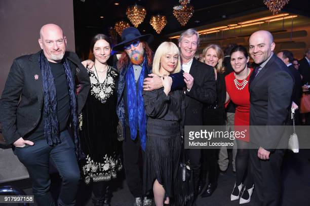 Jonathan Weiswasser Elizabeth Weiswasser musician Mark Hudson guest Country Music Hall of Fame Board Members Chris and Maggie Stewart guest and...