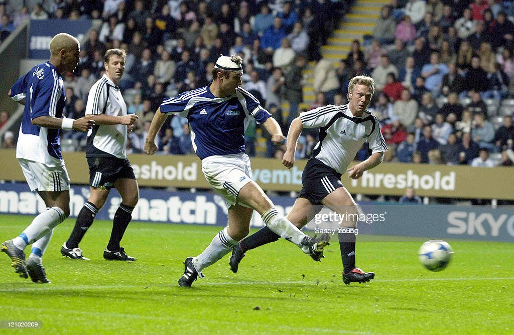 """Sky One's """"The Match"""" - The Celebrities vs The Legends - October 9, 2005"""