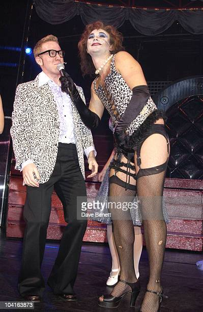 Jonathan Wilkes Robbie Williams Came To Bromley To Support His Good Friend Jonathan Wilkes As He Played Frank N Furter In The Hit Musical The Rocky...