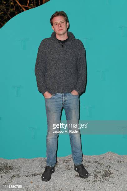 Jonathan William Anderson attends T Celebrates Salone del Mobile 2019 on April 08 2019 in Milan Italy