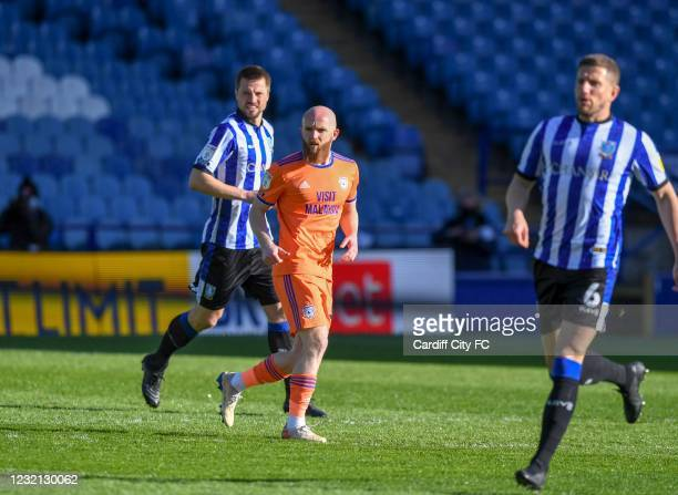 Jonathan Williams of Cardiff City FC during the Sky Bet Championship match between Sheffield Wednesday and Cardiff City at Hillsborough Stadium on...