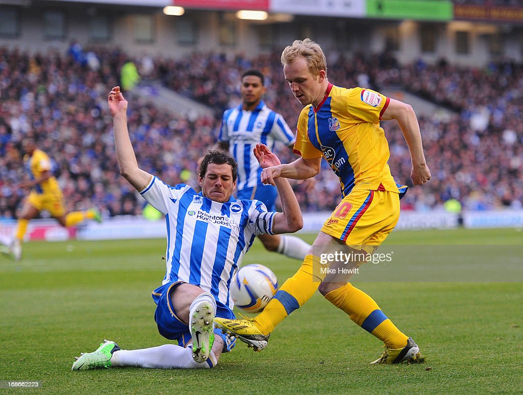 Brighton & Hove Albion v Crystal Palace - npower Championship Play Off Semi Final: Second Leg : News Photo