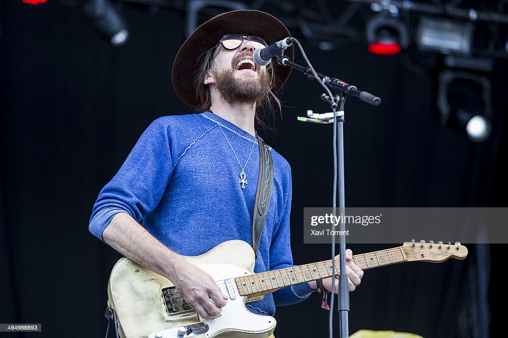 Jonathan Wilson performs on stage on last day of Primavera Sound 2014 on May 31, 2014 in Barcelona, Spain.