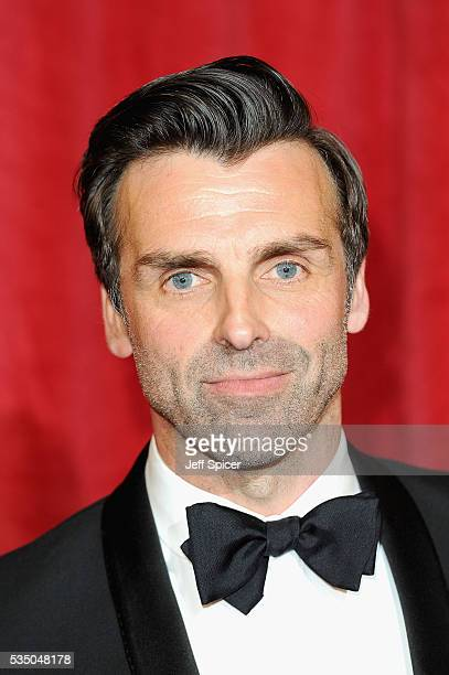 Jonathan Wrather attends the British Soap Awards 2016 at Hackney Empire on May 28 2016 in London England