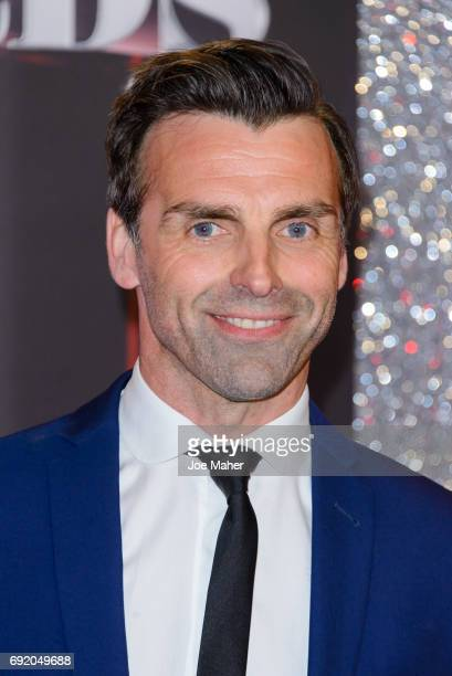 Jonathan Wrather attends the British Soap Awards at The Lowry Theatre on June 3 2017 in Manchester England