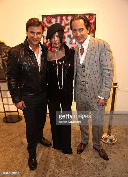 Jonathan Yaskoff Adriana De Moura and Frederic Marq attend Haring Miami VIP Reception to benefit Best Buddies and Care Resource at Moore Building on...