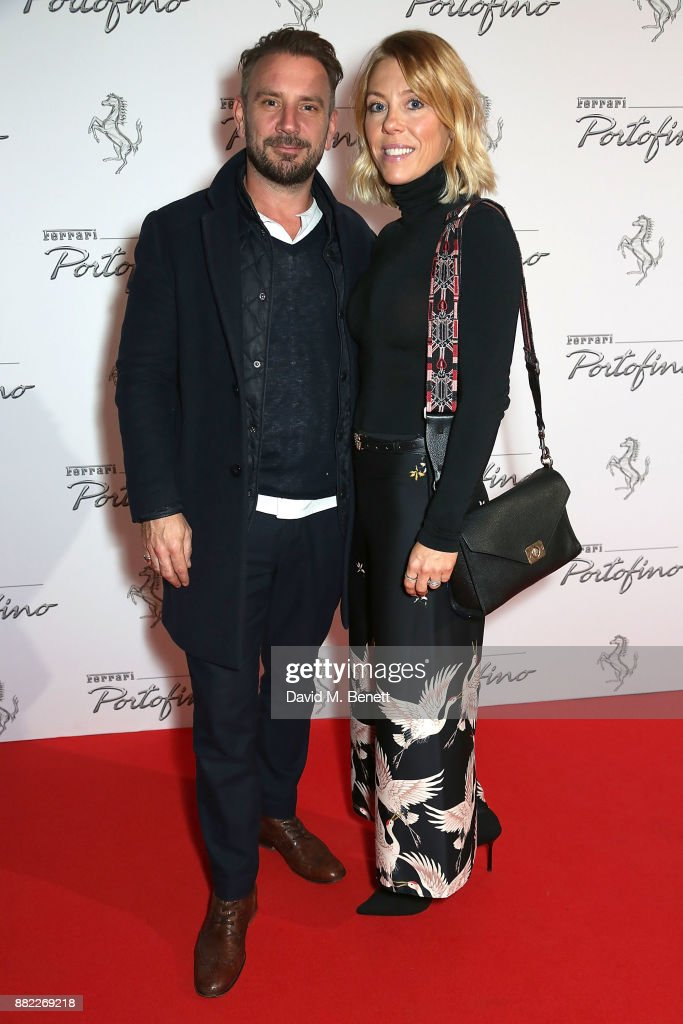 JonathanÊLong and Sophie Long attend the UK launch of the Ferrari Portofino at Kensington Olympia on November 29, 2017 in London, England.