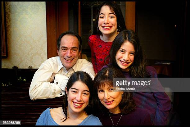 Jonathon and Susan Slonim with their daughters Melinda Dana and Kelila are a Jewish family taking part in Building Bridges an interfaith project that...