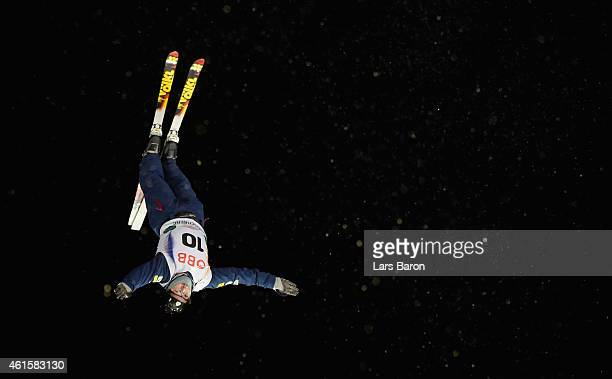 Jonathon Lillis of USA competes during the Men's Aerials Final of the FIS Freestyle Ski and Snowboard World Championship 2015 on January 15 2015 in...
