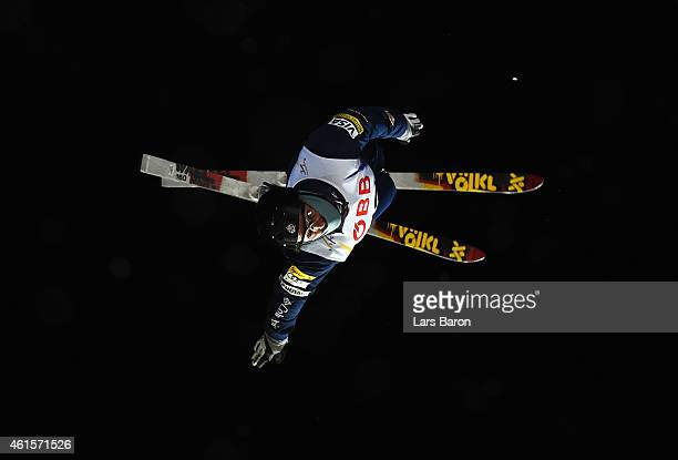 Jonathon Lillis of USA competes in the Men's Aerials Final of the FIS Freestyle Ski and Snowboard World Championship 2015 on January 15 2015 in...