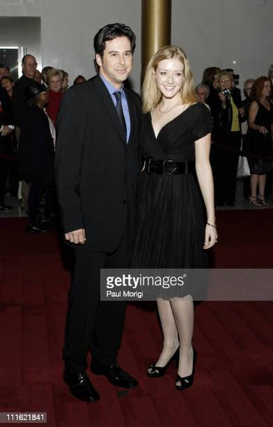 Jonathon Silverman and Jennifer Finnigan during Ninth Annual Mark Twain Prize Awarded to Neil Simon at The Kennedy Center in Washington DC United...