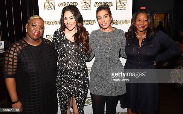 Joncier Rienecker Keke Wyatt Jennifer Goicoechea and Omara S Harris attend the ASCAP Rhythm And Soul Presents Women Behind The Music Atlanta Edition...