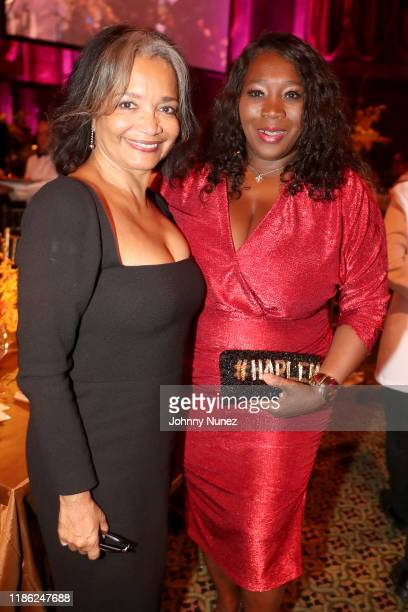 Jonelle Procope, President & CEO of the Apollo Theater and Bevy Smith attend the NAACP LDF 33rd National Equal Justice Awards Dinner at Cipriani 42nd...