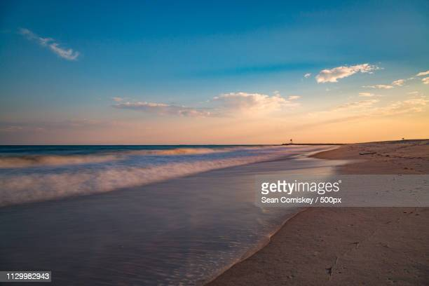 jones beach sunset - wantagh stock pictures, royalty-free photos & images