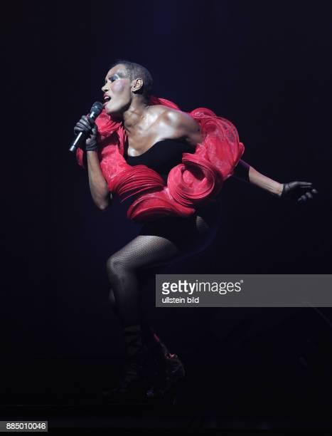 Jones Grace Saengerin Schauspielerin Model Jamaika Auftritt in Zuerich Schweiz