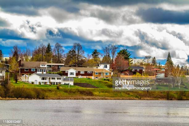 jones lake, greater moncton, new brunswick, canada - khanh ngo stock pictures, royalty-free photos & images