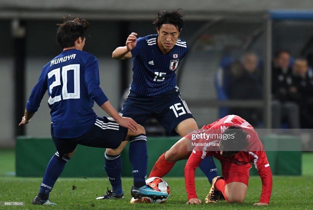 Japan v North Korea - EAFF E-1 Men's Football Championship : ニュース写真