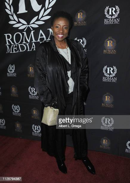 Joni Bovill arrives for Roman Media's 5th Annual Hollywood Event A Celebration of Women and Diversity in Film held at St Felix on February 18 2019 in...