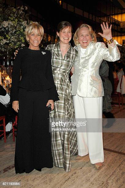 Joni Evens Ann Patchett and Liz Smith attend Literacy Partners Hosts Annual Gala 'An Evening of Readings' Honoring David and Julia Koch at Lincoln...