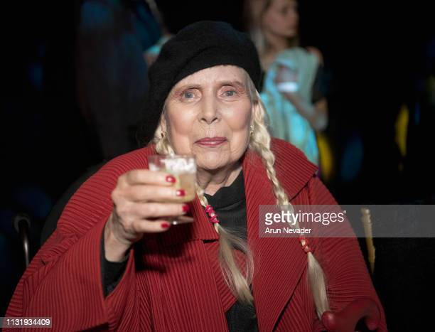 Joni Mitchell at Los Angeles Fashion Week FW/19 Powered by Art Hearts Fashion at The Majestic Downtown on March 21 2019 in Los Angeles California