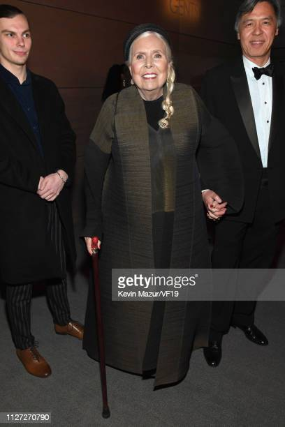 Joni Mitchell attends the 2019 Vanity Fair Oscar Party hosted by Radhika Jones at Wallis Annenberg Center for the Performing Arts on February 24 2019...