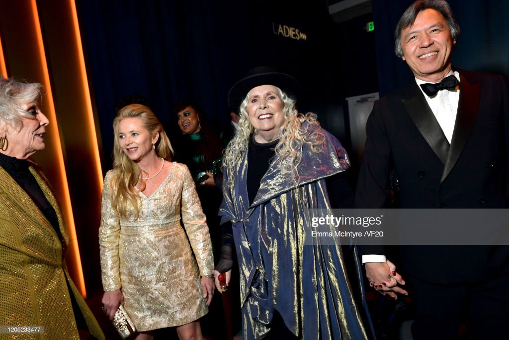 Joni Mitchell Attends The 2020 Vanity Fair Oscar Party Hosted By Foto Jornalistica Getty Images