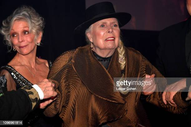 Joni Mitchell attends the PreGRAMMY Gala and GRAMMY Salute to Industry Icons Honoring Clarence Avant at The Beverly Hilton Hotel on February 9 2019...