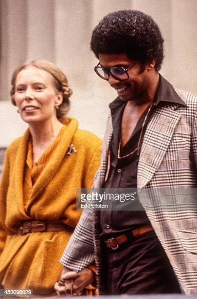 Joni Mitchell performs with Herbie Hancock at the Greek Theatre on September 2 1978 in Berkeley California