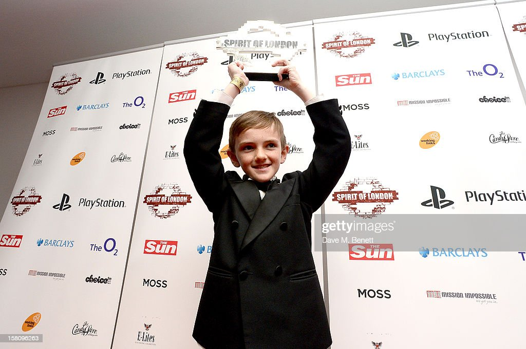 Jonjo Heuerman attends the Spirit Of London Awards in association with PlayStation at the O2 Arena on December 10, 2012 in London, England.