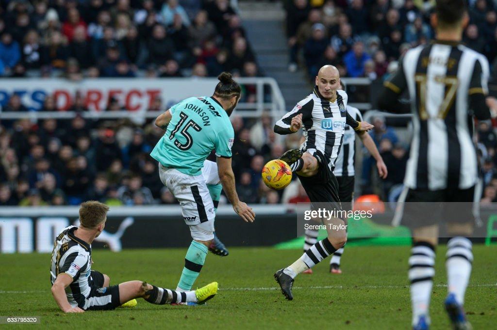Newcastle United v Derby County - Sky Bet Championship