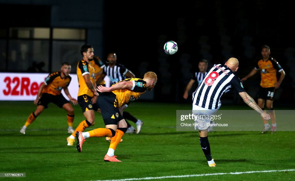 Newport County v Newcastle United - Carabao Cup Fourth Round : News Photo