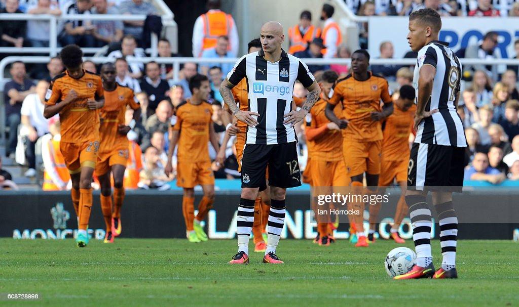 Newcastle United v Wolverhampton - Sky Bet Championship : News Photo