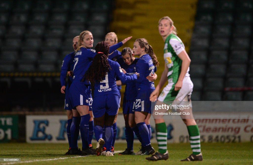 Yeovil Town Ladies v Chelsea Ladies: WSL : ニュース写真