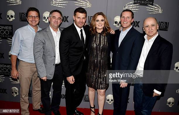 Jonnie Davis President Creative Affairs Twentieth Century Fox Television executive producer Hart Hanson actors/producers David Boreanaz Emily...