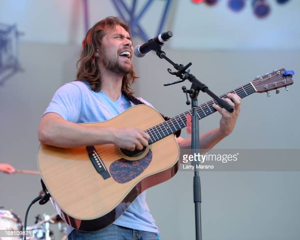 Jonnie Morgan performs during Sunfest 2013 on May 4 2013 in West Palm Beach Florida