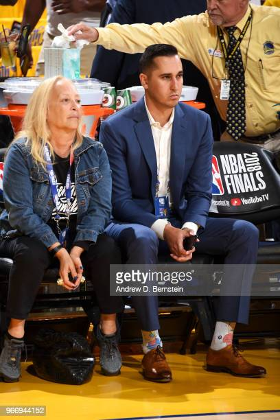 Jonnie West attends a game betwen the Cleveland Cavaliers and Golden State Warriors in Game Two of the 2018 NBA Finals on June 3 2018 at ORACLE Arena...