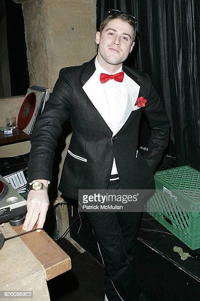 Jonny Abrahams attends Jazz Night at Teddy's Inside The Hollywood Roosevelt Hotel at Teddy's on February 15 2008