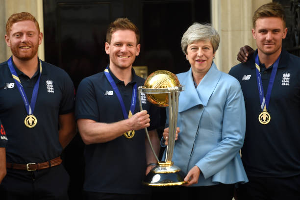 GBR: The Prime Minister Hosts A Reception For The Winning England Cricket Team