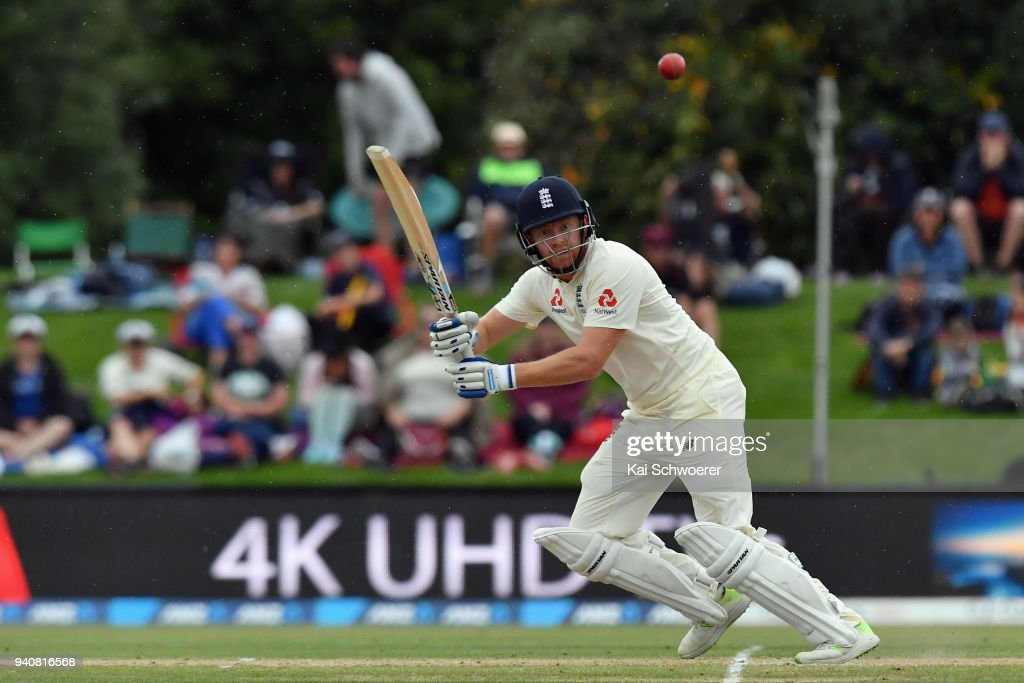 New Zealand v England - 2nd Test: Day 4 : News Photo