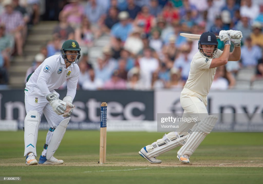 England v South Africa - 1st Investec Test: Day Four : News Photo