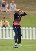 sydney australia jonny bairstow england reacts
