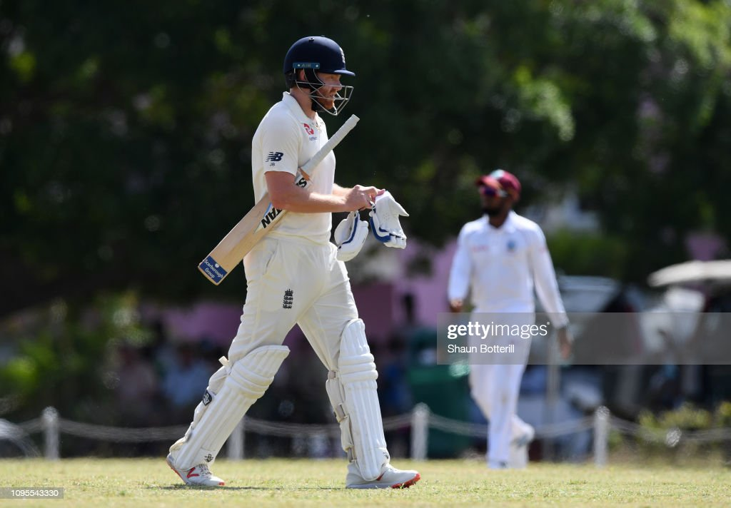 West Indies Board XI v England - Day One : News Photo