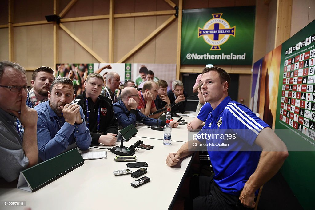 Northern Ireland Training and Press Conference