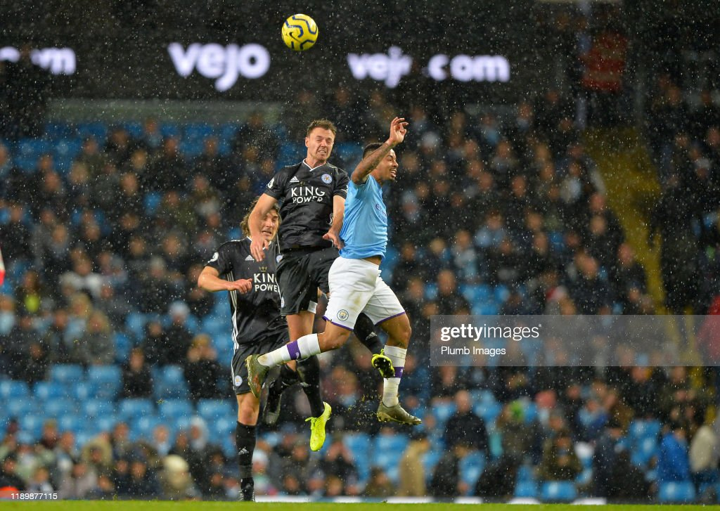 Manchester City v Leicester City FC - Premier League : Nieuwsfoto's