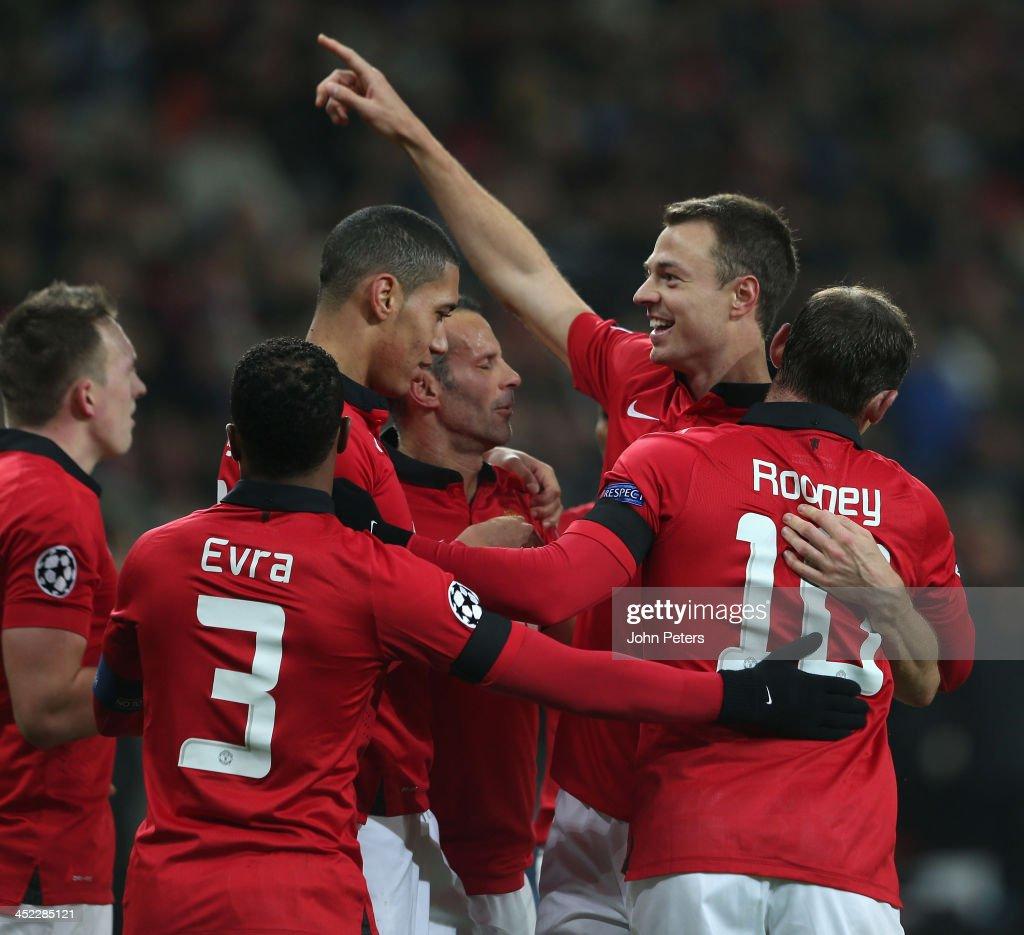 Bayer Leverkusen v Manchester United -- UEFA Champions League : News Photo
