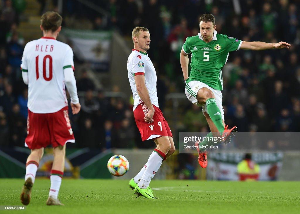 Northern Ireland v Belarus - UEFA EURO 2020 Qualifier : News Photo